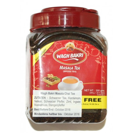 Wagh Bakri - Masala Tea 300 GM